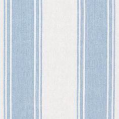 Danvers Stripe - Sky/White - Stripes - Fabric - Products - Ralph Lauren Home - RalphLaurenHome.com