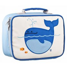 This cool unisex toddler & kids lunch box is created in durable nylon and is machine washable for easy cleaning! Featuring a charming blue whale design, this kids lunchbox is a sure hit on the school playground. Insulated Lunch Box, School Items, School Stuff, Childproofing, Baby Store, Lunch Time, Safe Food, Gifts For Kids, Back To School