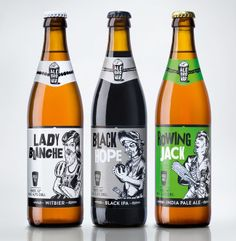 Packaging of the World: Creative Package Design Archive and Gallery: AleBrowar Brewery