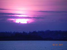 Maine sunset...Bailey Island.
