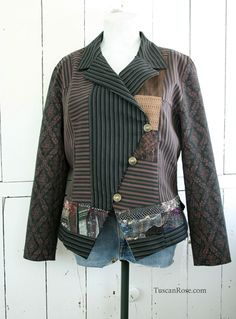 Steampunk pirate jacket vogue 7772