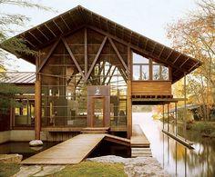 Lake Austin House - Lake|Flato Architects #austin #houses
