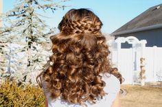 Sock Curls - No-heat curls