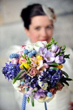Now this is a spring bouquet!   Planet Flowers