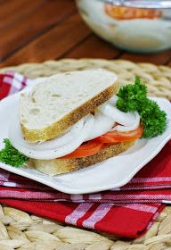 Onion sandwich. ..Sue 2014