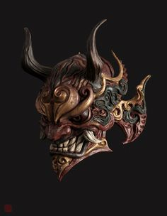ArtStation - mask, Shao zhijiao