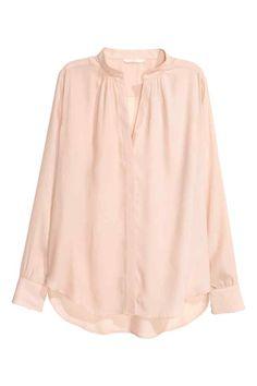 Блузка с треугольным вырезом | H&M