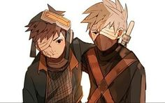 #Q: Opinion about their friendship? ⠀ Credits to the owner ⠀ #kakashihatake…
