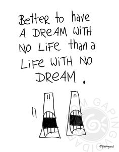 A Dream With No Life by www.gapingvoidart.com