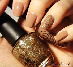 love brown nails
