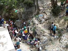Urban water collection in Haiti - Water.org - Google+