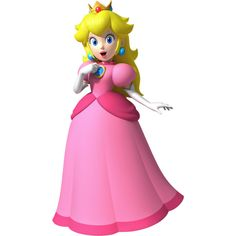 Princess Peach ❤ liked on Polyvore featuring mario