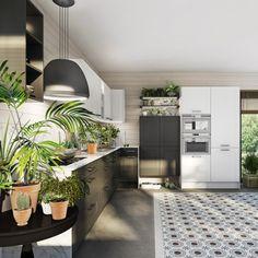 Une cuisine grise pour une décoration apaisante. En feng shui, le gris a une dimension de bien-être importante : il dispense calme et sérénité et provoque l'apaisement. Alors que nos vies ont un rythme fou, quel plaisir de rentrer chez soi et de s'installer, en famille, dans sa cuisine grise, apaisante et relaxante. Avec une cuisine grise, vous faites le choix de la zen attitude, dans cette pièce où tout le monde se rassemble. Quelques éléments de décoration, sans surcharger le plan de…