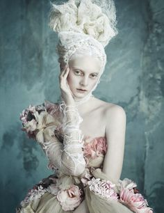 vogue 2014 03 12 223 Vogue Germany April 2014 | Dolce & Gabbana Haute Couture by Luigi + Iango [Editorial]