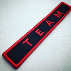Team Tie Clip, Accessories, Patches, Embroidery
