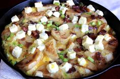 Potato Frittata with Bacon and Feta by Witty in the City