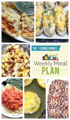 This week's Free Meal Plan includes: Grilled Hawaiian Pizza, Twice Baked Grilled Potatoes, Chorizo & Egg Breakfast Tacos, Linguini with Creamy Tomato Sauce, Chocolate Hazelnut Brownies, and more! | 5DollarDinners.com