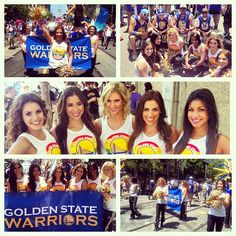 Had a fantastic time being part of the SF Gay Pride Parade! #warriors #sfgaypride
