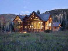 Luxury Custom Log Homes   Custom Log Home in Telluride, Colorado   Luxury House Design