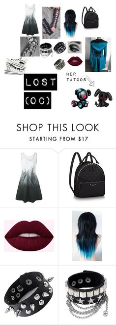 """""""lost (my girl oc)"""" by melbradshawpg ❤ liked on Polyvore featuring creepypasta"""