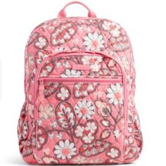 ddae83b295 Shop Women s Vera Bradley Pink size OS Backpacks at a discounted price at  Poshmark. Description  New with tags full size Vera Bradley Campus backpack  in ...
