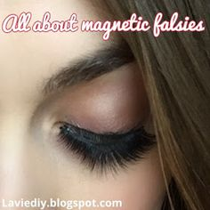 Everyone is talking about magnetic eyelashes as an alternative to the glue on falsies we've been using for years. They appealed me right o. Magnetic Lashes, Falsies, Eyelashes, Magnets, Alternative, Life, Lashes