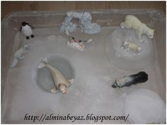 kış duyusal havuz