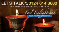 Feel Enlightened with teleAstro: Your Private Astrologer 0124 614 3600