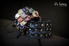leather bracelets by eli's fantasy handmade jewelry   www.elisfantasy.com