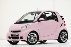 Pink Smart Brabus cabrio | My one & only obsession... Gorgeous!!! Although black stays my favorite <3