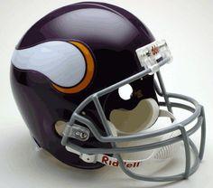 Minnesota Vikings 1961-79 Throwback Riddell Deluxe Replica Helmet