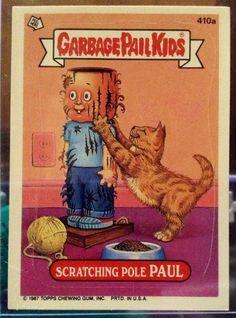 1987 Topps Garbage Pail Kids Trading Card 410a by LEATHERGLACIER, $2.00