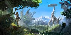 Dive into The Art of Lloyd Allan, a Concept Artist currently working at Guerrilla Games.