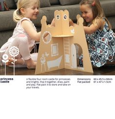 flatout frankie - cardboard toys for kids. green and gorgeous!