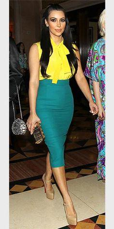 21cc81f36675b Kim Kardashian  I wouldn t walk into my closet and grab my yellow top