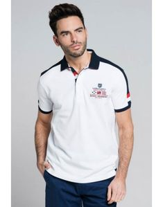Valecuatro polo Royal blanco Fred Perry, Polo Rugby Shirt, Polo Outfit, Camisa Polo, Corporate Design, Polo Ralph Lauren, Casual, Mens Tops, Outfits