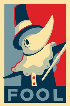 FOOL!  Soul Eater - Excalibur Campaign Poster by ~gnarlycat on deviantART.... Lol