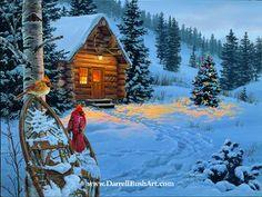 Winter Color's by Artist Darrel Bush
