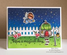 More @lawnfawn fairy fun!