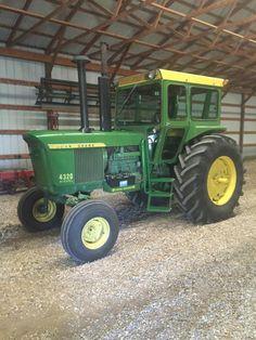 John Deere Garden Tractors, Jd Tractors, New Tractor, Tractors For Sale, Agriculture Tractor, Farming, Old Farm Equipment, Heavy Equipment, John Deere 4320