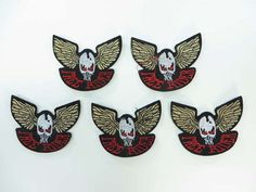 free rider skull wing motorcycles biker chopper punk rock embroidered iron on patch $1.5 - http://www.wholesalesarong.com/blog/free-rider-skull-wing-motorcycles-biker-chopper-punk-rock-embroidered-iron-on-patch-1-5/