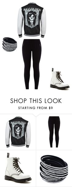 """""""Untitled #87"""" by taaywhitee on Polyvore featuring Dr. Martens"""