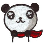 Panda Bear Embroidery Designs, Free Machine Embroidery Designs at EmbroideryDesigns.com Free Machine Embroidery Designs, Panda Bear, Ava, Hello Kitty, Sewing, How To Make, Patches, Dressmaking, Couture