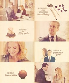 Harvey Specter Meme | my edits suits harvey specter donna paulsen harvey x donna i've never ...