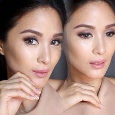 Bridal Makeup, Wedding Makeup, Heart Evangelista, Eye Makeup, Hair Makeup, Filipina Beauty, Asian Models, Hair Ideas, Beautiful People