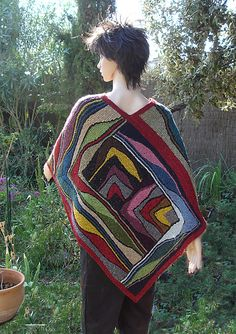 Ariadnes Faden by Nadita Swings ... combination of swing and patchwork knitting