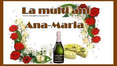 La multi ani, Ana-Maria!