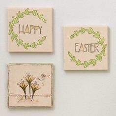 Spring has sprung! Here are 4 projects to get hopping on before Easter arrives! #Easter #crafts