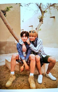 Jungkook and V ❤ #BTS #방탄소년단 Summer Package in DUBAI Day-2.