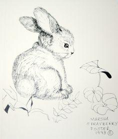 Image result for gestural bunny